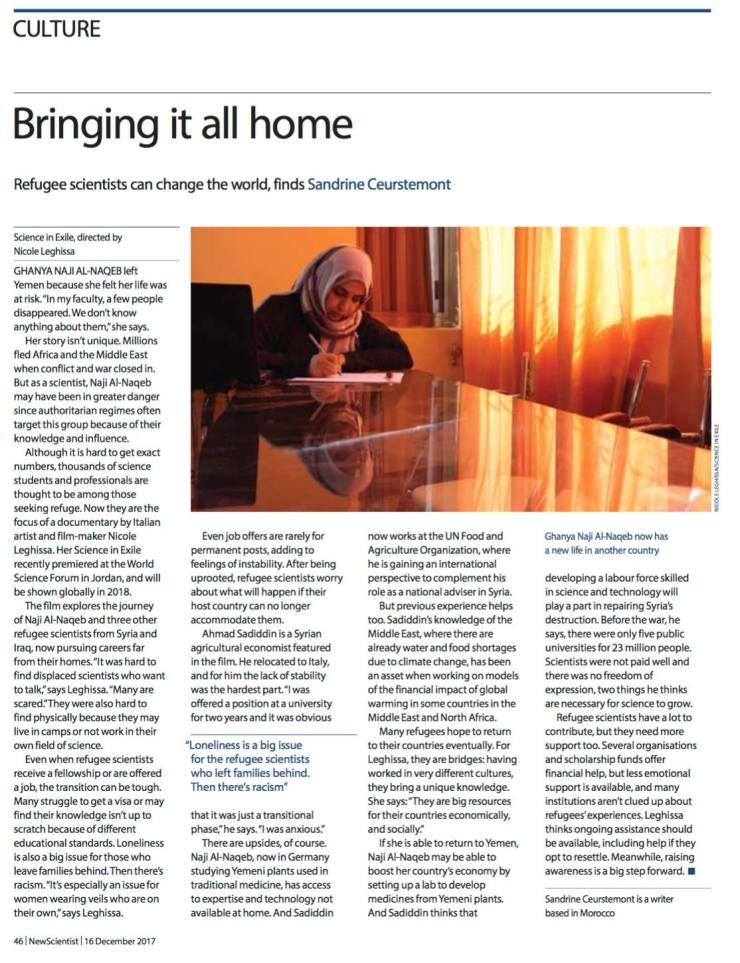 SIE New Scientist